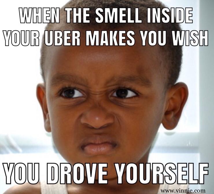Uber Smell Meme